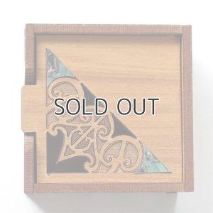画像2: マオリデザインの木製小箱(MAORI/マオリ)